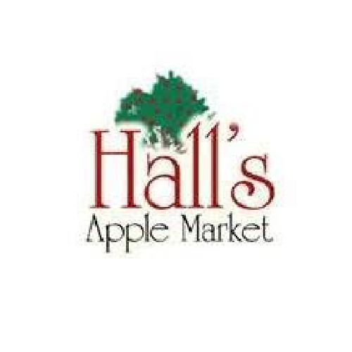 Hall's Apple Market logo