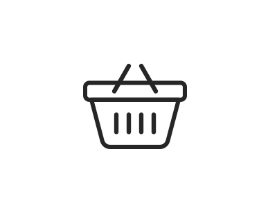check-out basket icon
